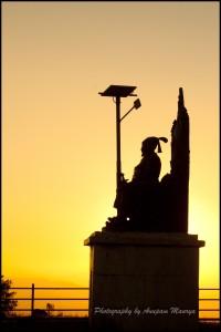 Shivaji Silhouette