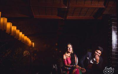 Krishna and Akanksha : Wedding at Temple Tree Leisure, Bangalore