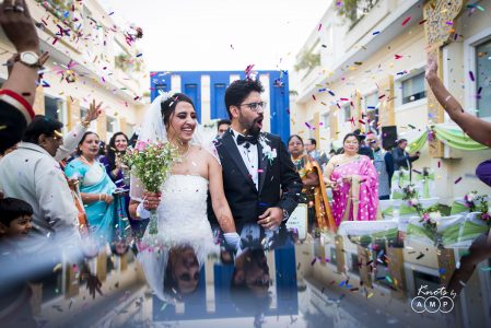 Ishita & Snehasish : White Wedding in Delhi