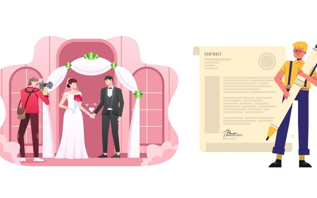 Contract for Wedding Photographers