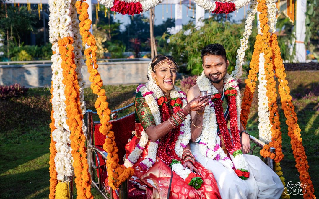 Deepak & Pooja : Tamil Wedding in Janki Resorts, Gujarat